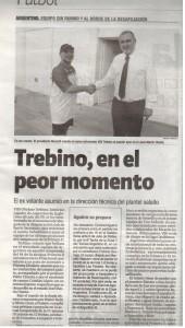 El diario El Ciudadano refleja el fracaso de Daniel Mariatti en Argentino