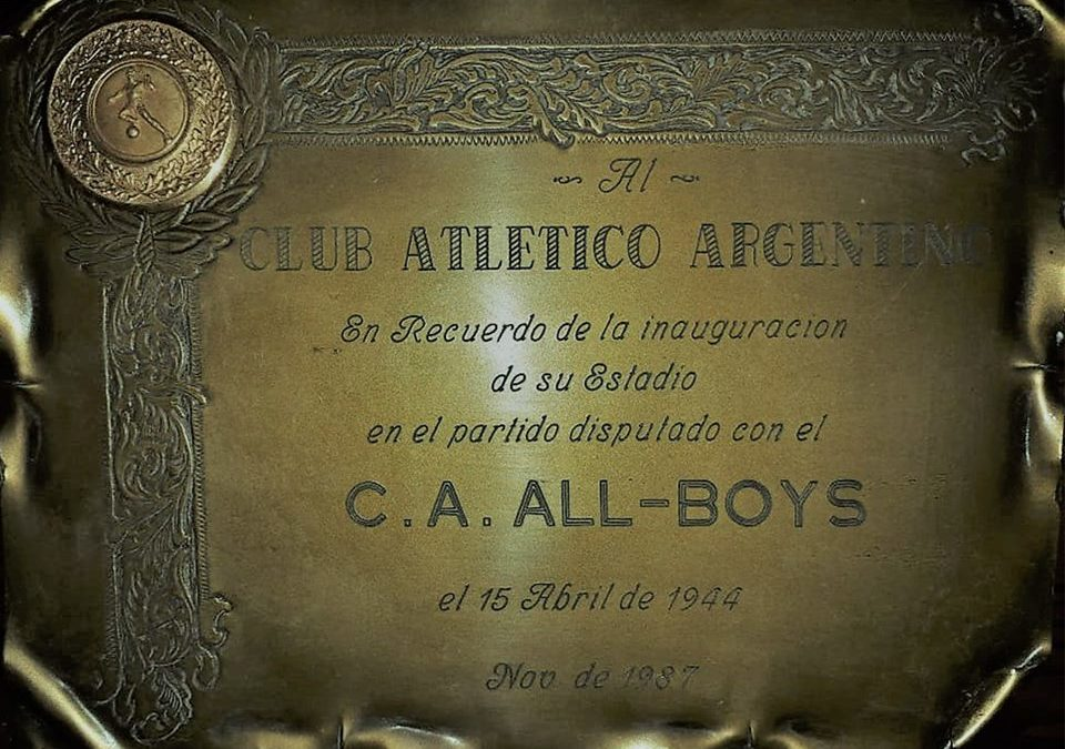 Aniversario de nuestro estadio Jose Martín Olaeta